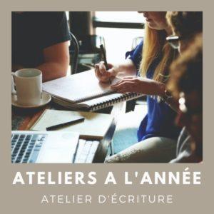 Atelier d'écriture à l'année Saint-Briac sur mer et Saint-Gréroire, Bretagne   Fabienne Morel d'Arleux